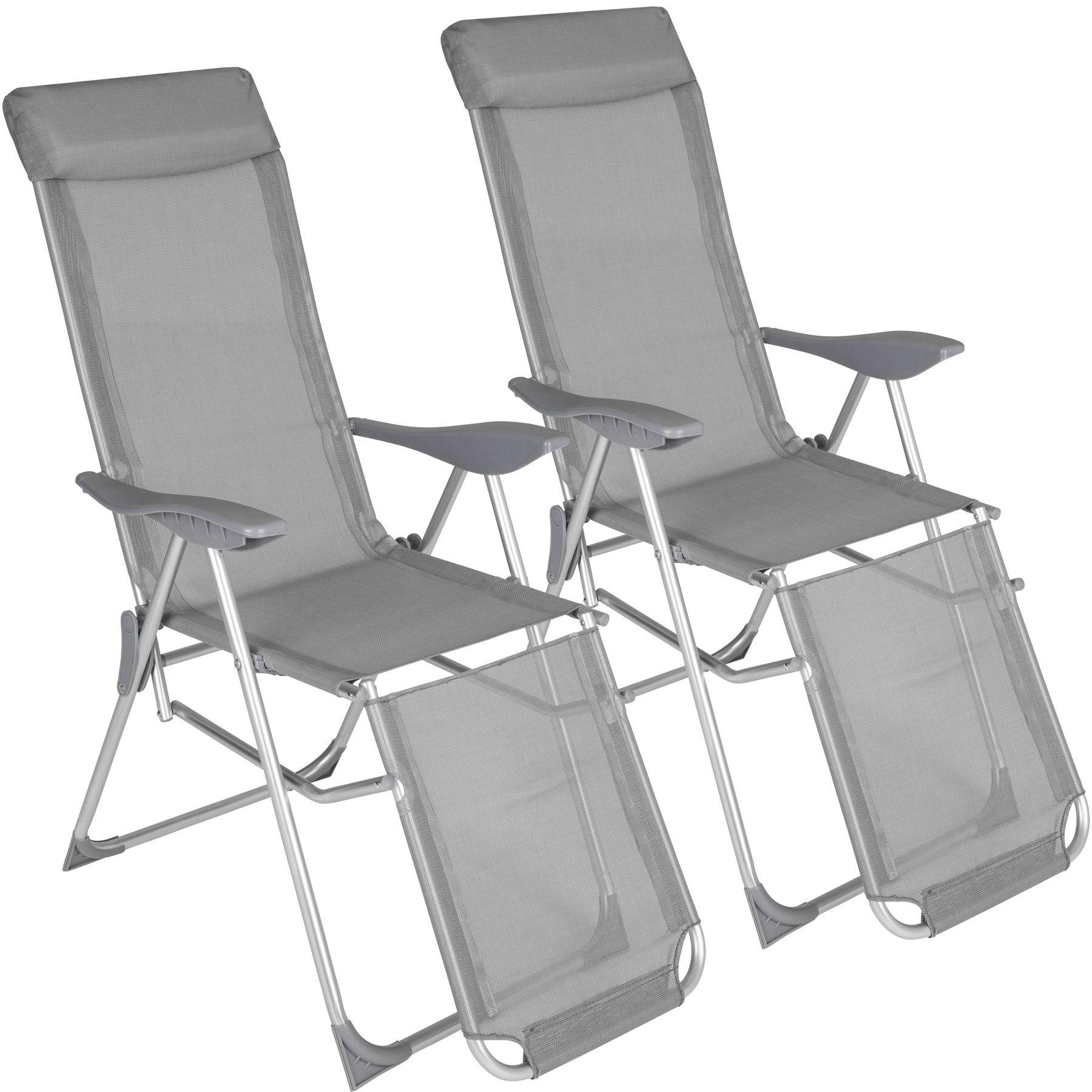 Magnificent Details About Set Of 2 Folding Chairs Aluminium Multi Position Chair Stool Garden Terrace Creativecarmelina Interior Chair Design Creativecarmelinacom