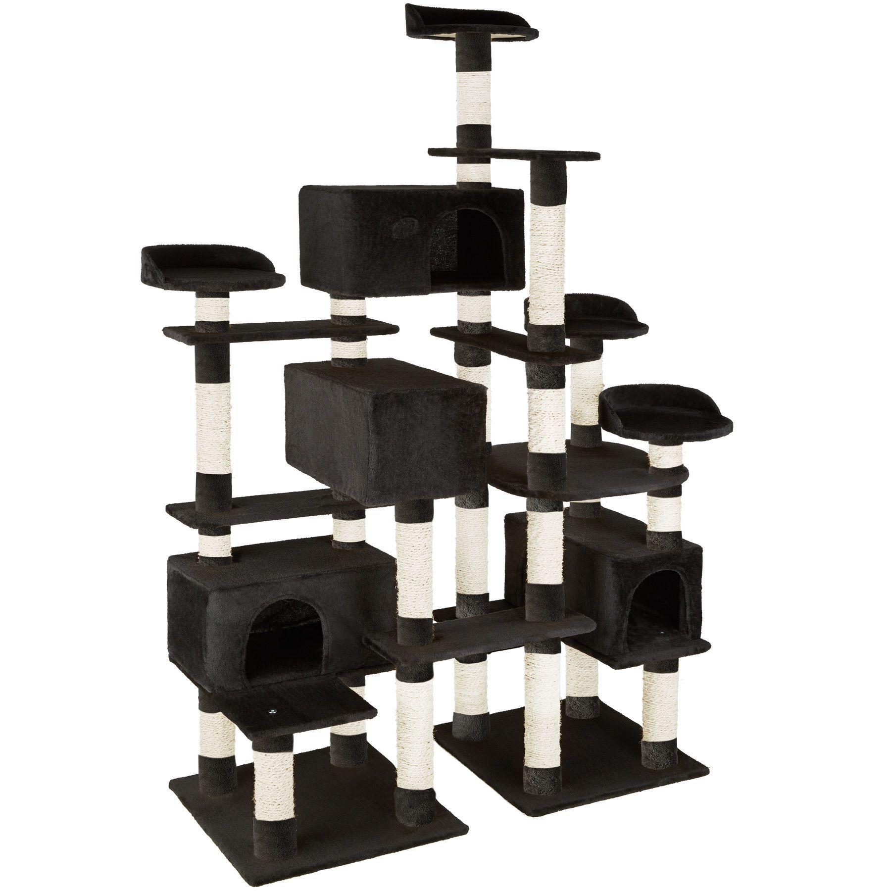 xxl kratzbaum baum f r katzen kletterbaum katzenbaum katzenkratzbaum 214cm ebay. Black Bedroom Furniture Sets. Home Design Ideas