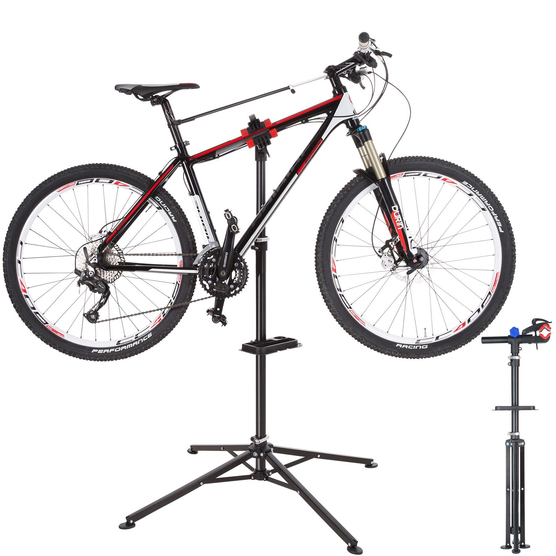 Pied d/'atelier pour vélos VTT montage stand réparation entretien pivotant pro ✅
