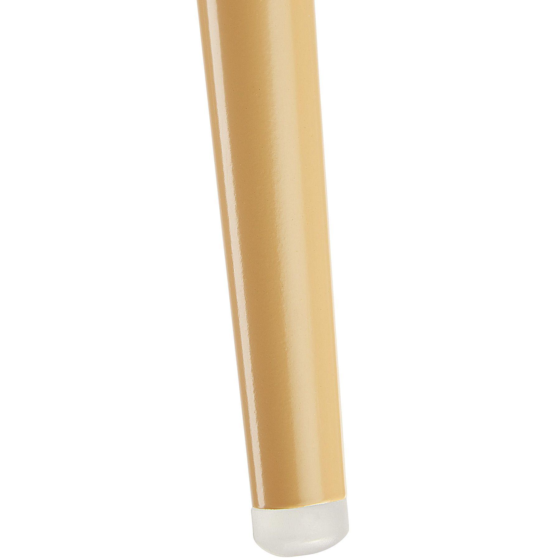 TecTake 402981 Chaise Fauteuil de Salle /à Manger de Bureau de Salon Rembourr/é Confort Design Scandinave 55 cm x 54 cm x 82,5 cm Gris
