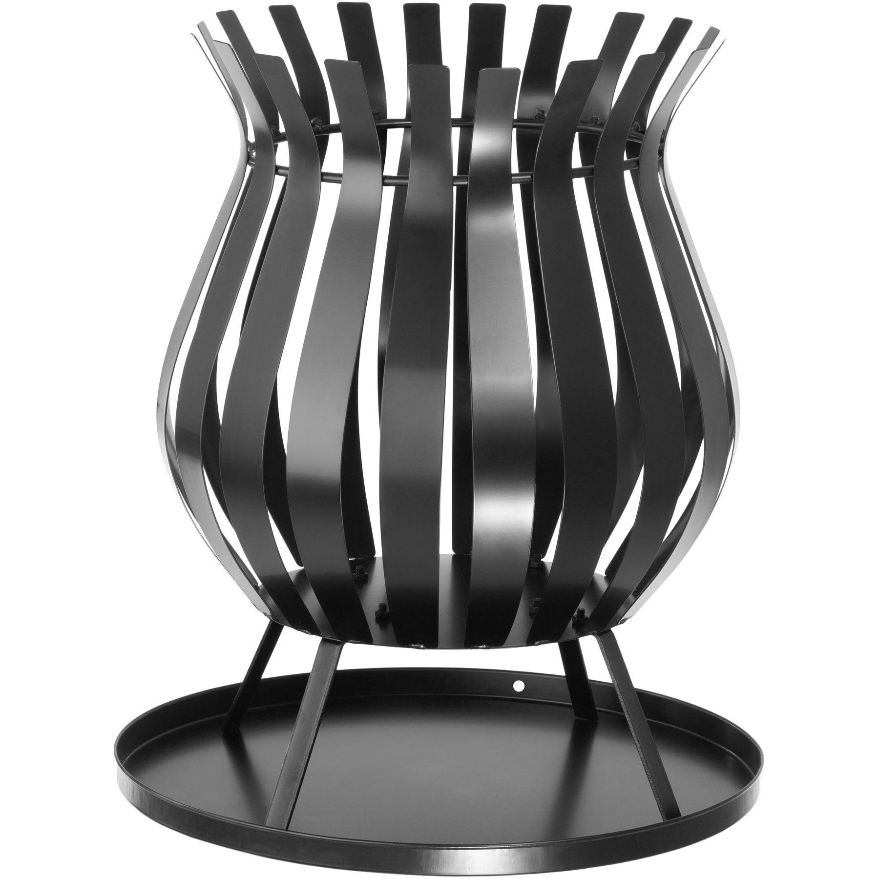 Brasero À L Éthanol détails sur brasero de jardin terrasse barbecue grill chauffage extérieur  en acier noir