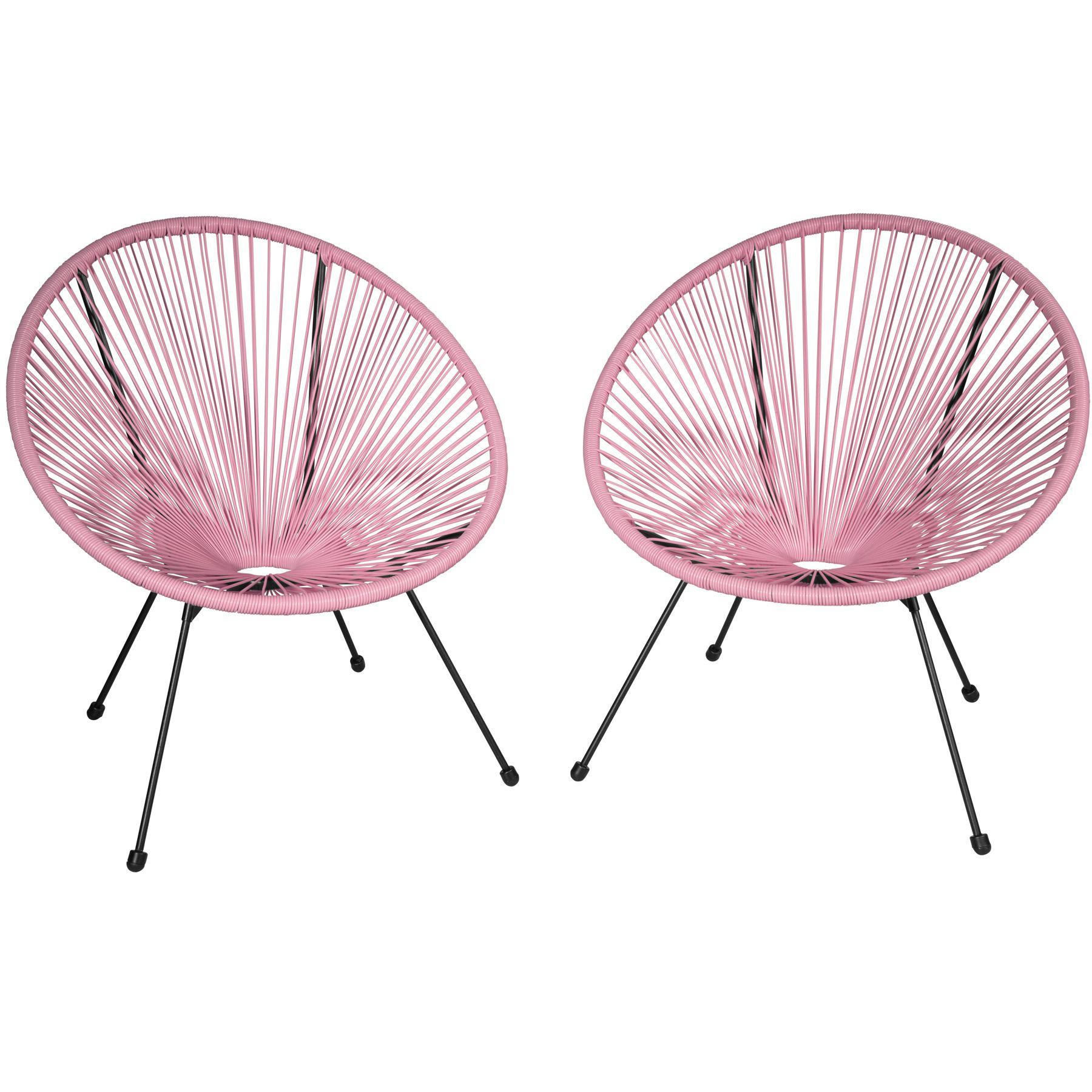 Sedie A Forma Di Sedere Costo dettagli su set di 2x sedie rotonde poltrone mobili giardino terrazzo patio  esterno relax n