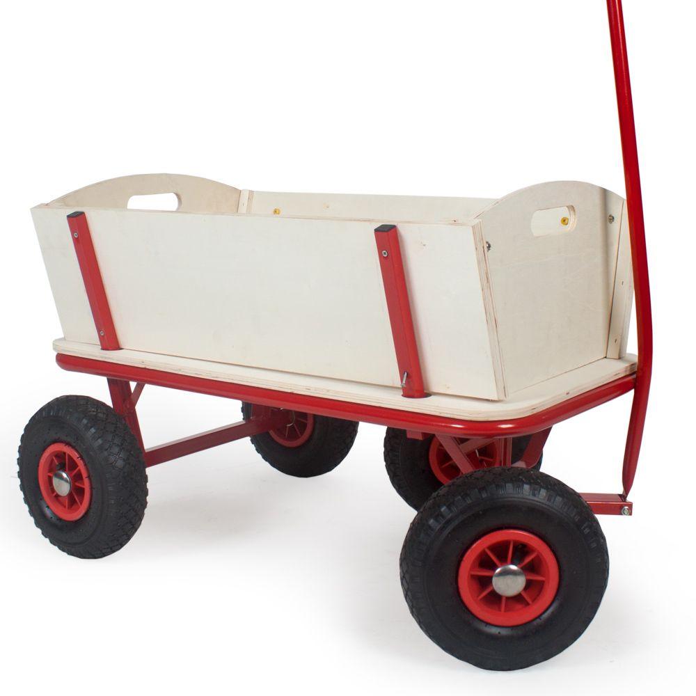 bollerwagen handwagen transportwagen ger tewagen mit wetterplane ebay. Black Bedroom Furniture Sets. Home Design Ideas